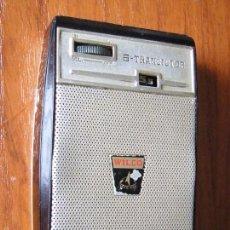 Radios antiguas: RADIO TRANSISTOR WILCO 6 TRANSISTORES FUNCIONANDO. Lote 58363494