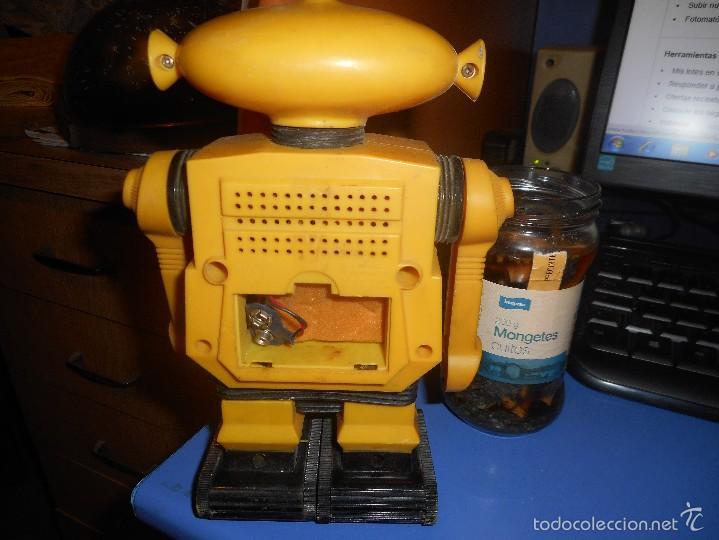Radios antiguas: curioso robot radio - Foto 2 - 58454797