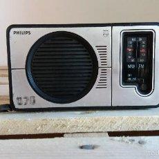 Radios antiguas: RADIO TRANSISTOR PHILIPS 070. Lote 58489737