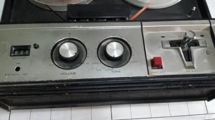Radios antiguas: Antiguo Grabador de cinta magnética años 50 - Foto 3 - 80914867
