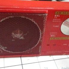 Radios antiguas: ANTIGUO RADIO TRANSISTOR 2 BANDAS INTERNATIONAL . Lote 58497386