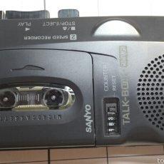 Radios antiguas: ANTIGUO MICROCASSETE RECORDER SANYO AÑOS 80. Lote 58506558