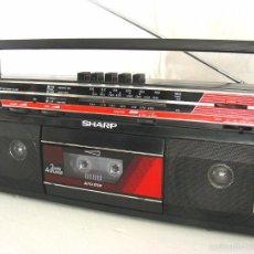 Radios antiguas: RADIO CASSETTE ESTÉREO SHARP, 1985. Lote 58673207