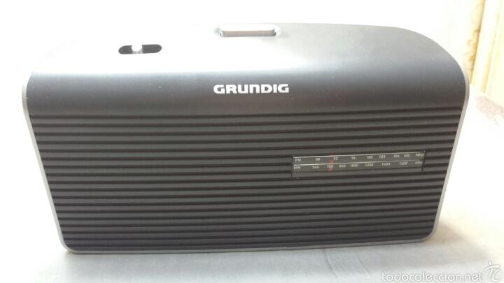 RADIO RETRO GRUNDIG MÚSICA 60 (Radios, Gramófonos, Grabadoras y Otros - Transistores, Pick-ups y Otros)