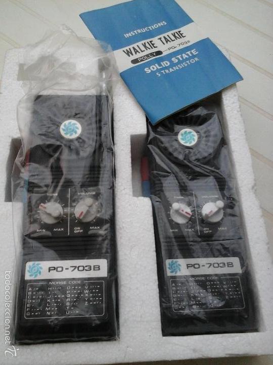 Radios antiguas: walkie talkie - Foto 3 - 50635696