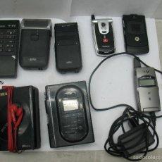 Radios antiguas: LOTE DE 3 MÓVILES 2 MÁQUINAS ELÉCTRICAS DE AFEITAR 1 MANDO 1 RADIO. Lote 59256025