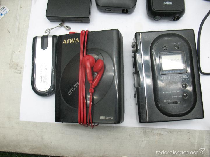 Radios antiguas: Lote de 3 móviles 2 máquinas eléctricas de afeitar 1 mando 1 radio - Foto 5 - 59256025
