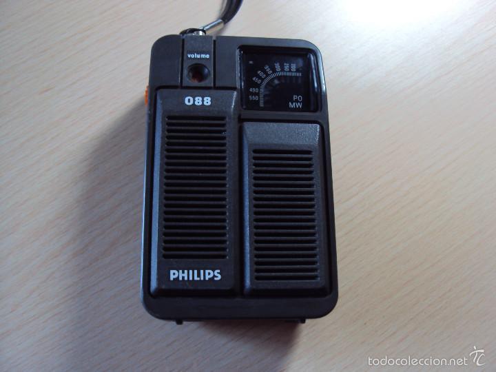 RADIO PHILIPS 088 (Radios, Gramófonos, Grabadoras y Otros - Transistores, Pick-ups y Otros)