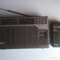 Radios antiguas: PAREJA DE RADIO (PHILIPS). Lote 90389751
