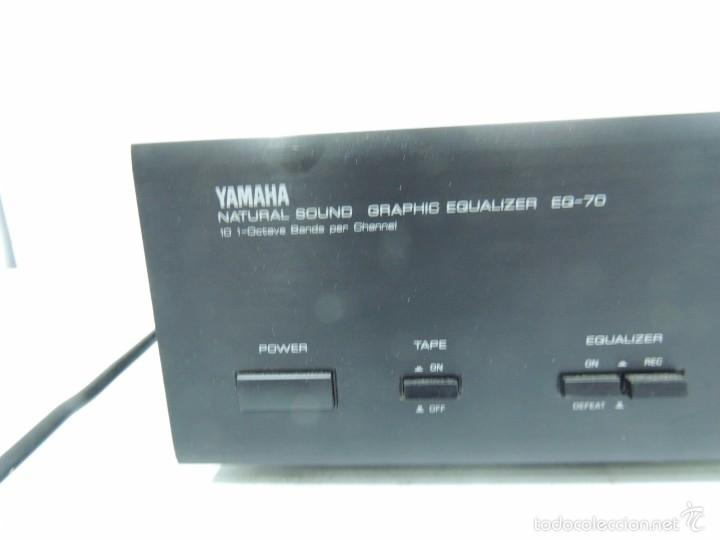 Antiguo yamaha eq-70 stereo graphic equalizer v - Sold at Auction