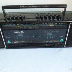 Radios antiguas: PHILIPS RADIO CASSETTE RECORDER VINTAGE. Lote 55371998
