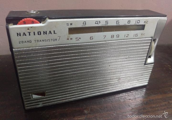 RADO TRANSISTOR NATIONAL (Radios, Gramófonos, Grabadoras y Otros - Transistores, Pick-ups y Otros)