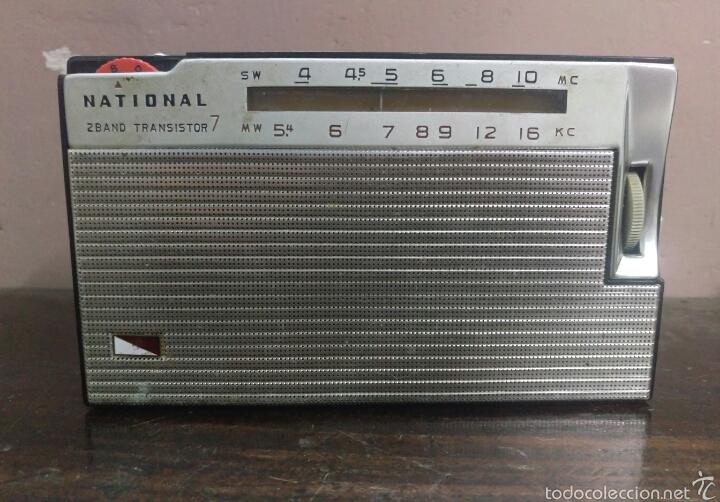 Radios antiguas: RADO TRANSISTOR NATIONAL - Foto 2 - 60722775