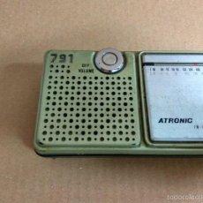 Rádios antigos: TRANSISTOR ATRONIC 791 -- AÑOS 70?? 80??. Lote 60797983