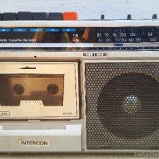 Radios antiguas: RADIO CASETE INTERCOM. Lote 60962983