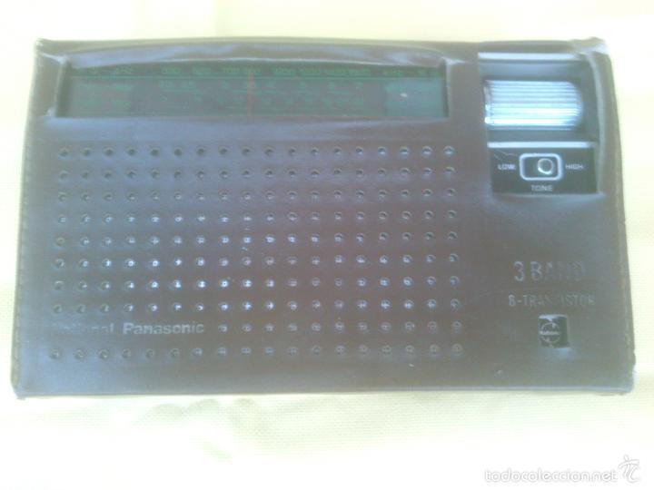 RADIO TRANSISTOR NATIONAL PANASONIC R-302 (Radios, Gramófonos, Grabadoras y Otros - Transistores, Pick-ups y Otros)