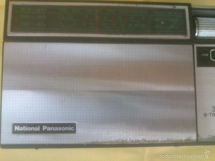 Radios antiguas: RADIO TRANSISTOR NATIONAL PANASONIC R-302 - Foto 5 - 85750716