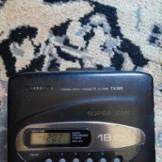 Radios antiguas: WALKMAN AIWA CON AURICULARES Y CINTA CASSETTE ORIGINAL. Lote 61833396
