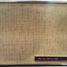 Radios antiguas: PAREJA DE BAFLES ANGLO BM04-202. AÑOS 60/70. Lote 62072072