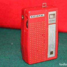 Radios antiguas: ANTIGUA RADIO TRANSISTOR NATIONAL. Lote 62106132