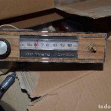Radios antiguas: RADIO DE COCHE DE WALD. Lote 62534364