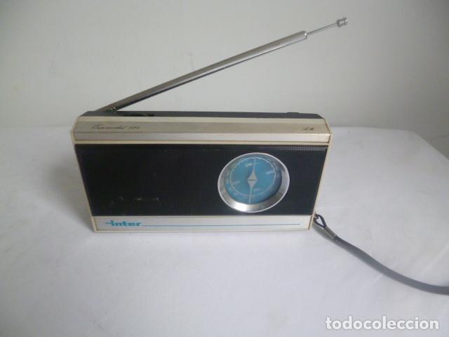 RADIO ANTIGUA INTER MADE IN SPAIN ESPAÑA RADIO VINTAGE (Radios, Gramófonos, Grabadoras y Otros - Transistores, Pick-ups y Otros)