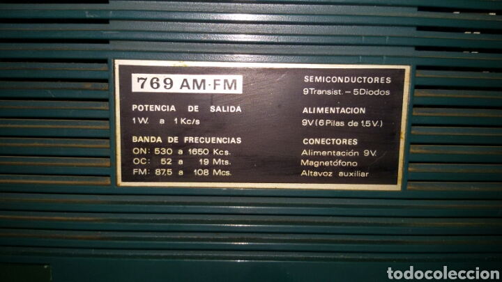 Radios antiguas: Lote Dos Radios Antiguas. - Foto 4 - 62990182