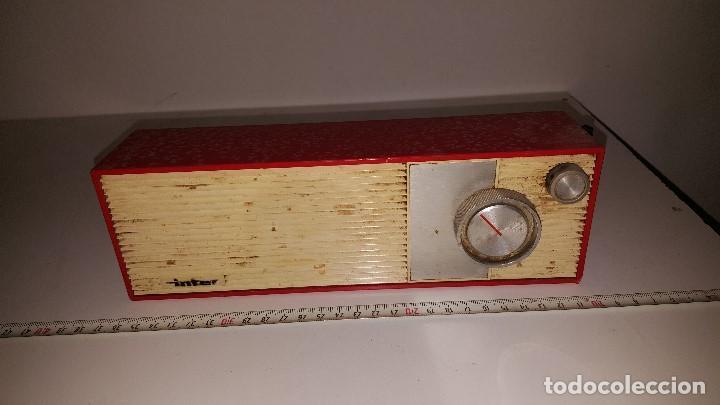 RADIO INTER (Radios, Gramófonos, Grabadoras y Otros - Transistores, Pick-ups y Otros)