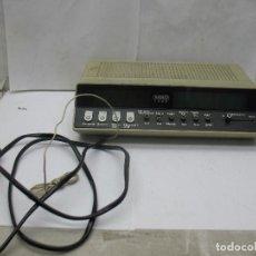 Radios antiguas: MBO REF: 10278 - RADIO RELOJ ELECTRÓNICA MODELO 1900. Lote 63545856
