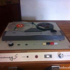 Radios antiguas: MAGNETÓFONO ENOMAG S RETRO VINTAGE. Lote 63623443