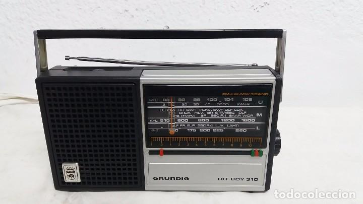 Radios antiguas: RADIO GRUNDIG HIT BOY 310 - Foto 1 - 64379527