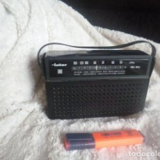 Radios antiguas: RADIO ANTIGUA INTER MADE IN SPAIN. Lote 55372209