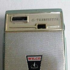 Radios antiguas: PRECIOSO TRANSISTOR WILCO CON FUNDA ORIGINAL. Lote 58283471
