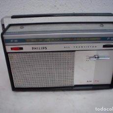 Radios antiguas: RADIO DE TRANSISTORES PHILIPS . Lote 67347345