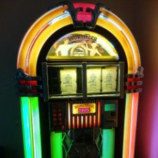 Radios antiguas: AUTÉNTICA JUKEBOX WURLITZER PRINCESS FABRICADA EN ALEMANIA TOCADISCOS SINFONOLA ROCKOLA. Lote 148656970