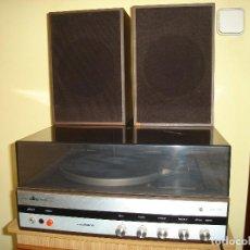 Radios antiguas: TOCADISCOS COSMO F 6750 ESTEREO.CON SUS DOS ALTAVOCES ORIGINALES.. Lote 67482717