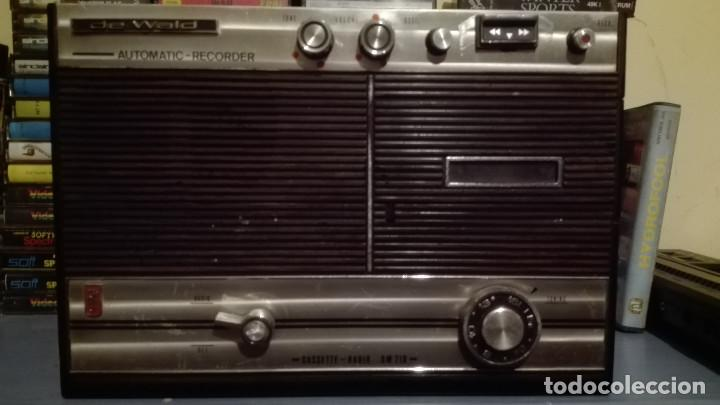 RADIOS CASSET DEWALD LEER ANTES (Radios, Gramófonos, Grabadoras y Otros - Transistores, Pick-ups y Otros)