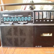 Radios antiguas: RADIO CASSETTE INTER RCP436 FUNCIONANDO. Lote 68290937