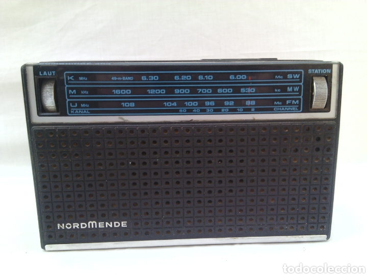 RADIO NORDMENDE CAMBRIDGE 303 (Radios, Gramófonos, Grabadoras y Otros - Transistores, Pick-ups y Otros)