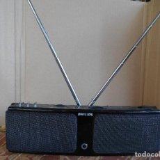 Radios Anciennes: RADIO PHILIPS STEREO DE 26 X 8 CTM. RARA,FM Y AM., PILAS AA Y DC 6 V.. Lote 68368157