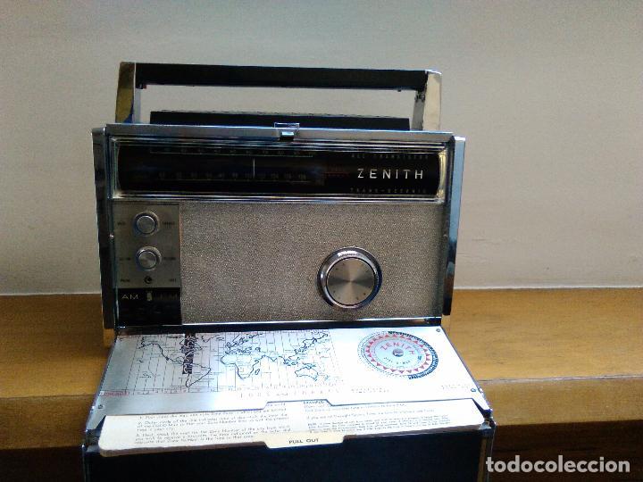 RADIO RECEPTOR AMERICANO ZEHITH 3000 (Radios, Gramófonos, Grabadoras y Otros - Transistores, Pick-ups y Otros)