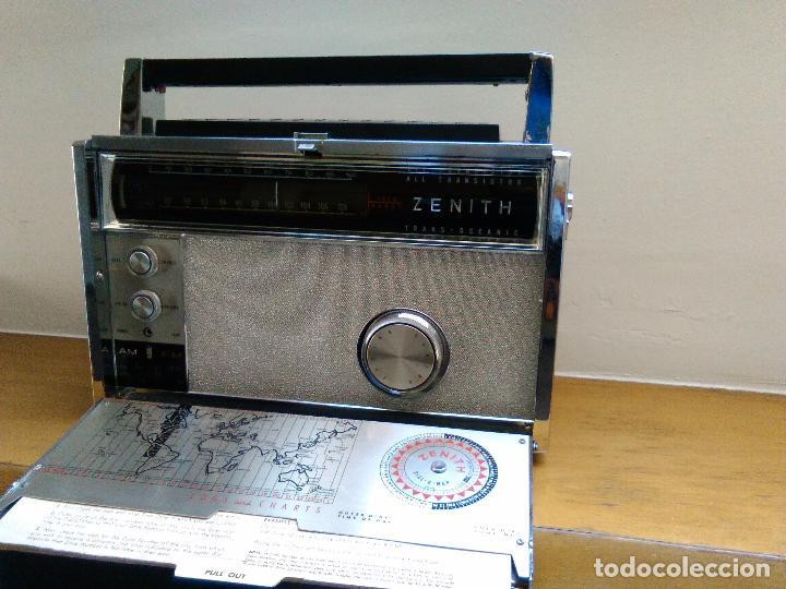 Radios antiguas: RADIO RECEPTOR AMERICANO ZEHITH 3000 - Foto 2 - 68530273