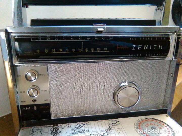 Radios antiguas: RADIO RECEPTOR AMERICANO ZEHITH 3000 - Foto 5 - 68530273