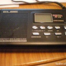 Radios antiguas: RADIO PORTATIL MARCA ELBE AM/ FM DIGITAL NUEVO A ESTRENAR. Lote 69070317