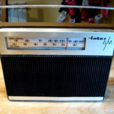 Radios antiguas: RADIO INTER AM. VINTAGE MADE IN SPAIN. Lote 69074309