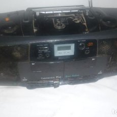 Radios antiguas: RADIO CD CASSETTE PHILIPS. Lote 69419449