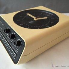 Radios antiguas: RADIO RELOJ POP EUROPHON H10 SOBREMESA O PARED - ITALIA AÑOS 60 - SPACE AGE. Lote 70537589