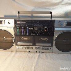 Radios antiguas: RADIOCASSETTE SHARP GF-575 DE 1985. BOOMBOX. Lote 71148945