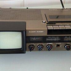 Radios antiguas: SONY FX 412 RADIO TV CASSETTE. Lote 71708547