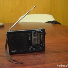 "Radios antiguas: ANTIGUA RADIO RECEPTOR ""SONY ICF – 7600"". FM/MW/SW. 1977. Lote 71795439"